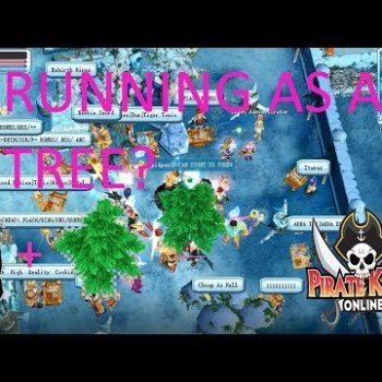 Pirate King Online - A Walking Tree