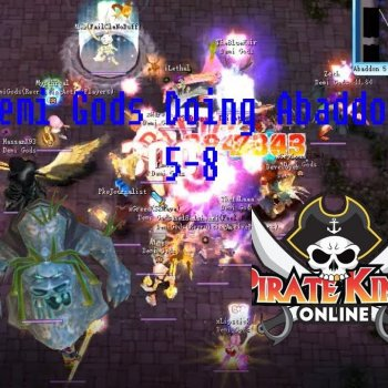 Pirate King Online - Demi Gods Doing Abaddon 5-8