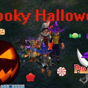 Pirate King Online - Spooky Halloween