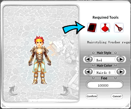 Hairstyle Guide Pirate King Online