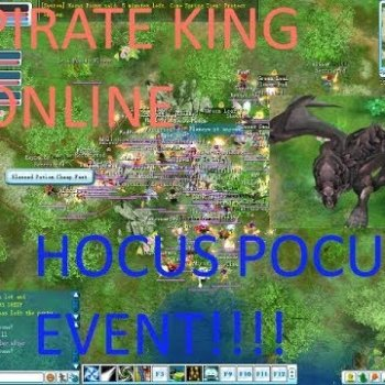 Pirate King Online Hocus Pocus Event 2018