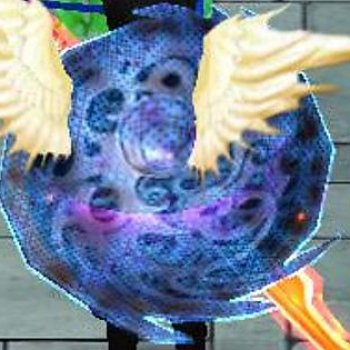 My shield is an angel!